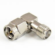 C3221 SMA M/F Right Angle Adapter Centric RF