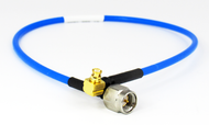 C574-086-18 SMA/Male to SMP/Female Right Angle .086 18 inch Cable Assembly Centric RF