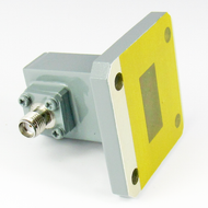 CWR75SC WR75 to SMA Waveguide to Coax Adapter Centric RF