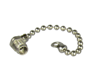 C4894 2.4/Female Dust Cap with Chain Centric RF