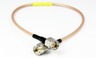 C594-316-09 SMA/Male to SMA/Male RG316 9 inch Cable Centric RF