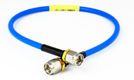 C585-141-24 SMA/Male to SMA/Male 18 Ghz Formable 24 inch Cable Assembly Centric RF