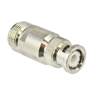 C5042 BNC/Male to N/Female Brass Coaxial Adapter Centric RF
