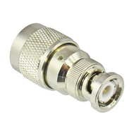 C5053 BNC/Male to N/Male Brass Coaxial Adapter Centric RF
