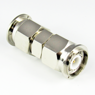 C2577 TNC/Male to TNC/Male Brass Coaxial Adapter Centric RF