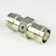 C2500 TNC/Female to TNC/Female Brass Coaxial Adapter Centric RF