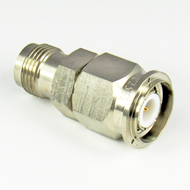 C2552 TNC/Male to TNC/Female Brass Coaxial Adapter Centric RF