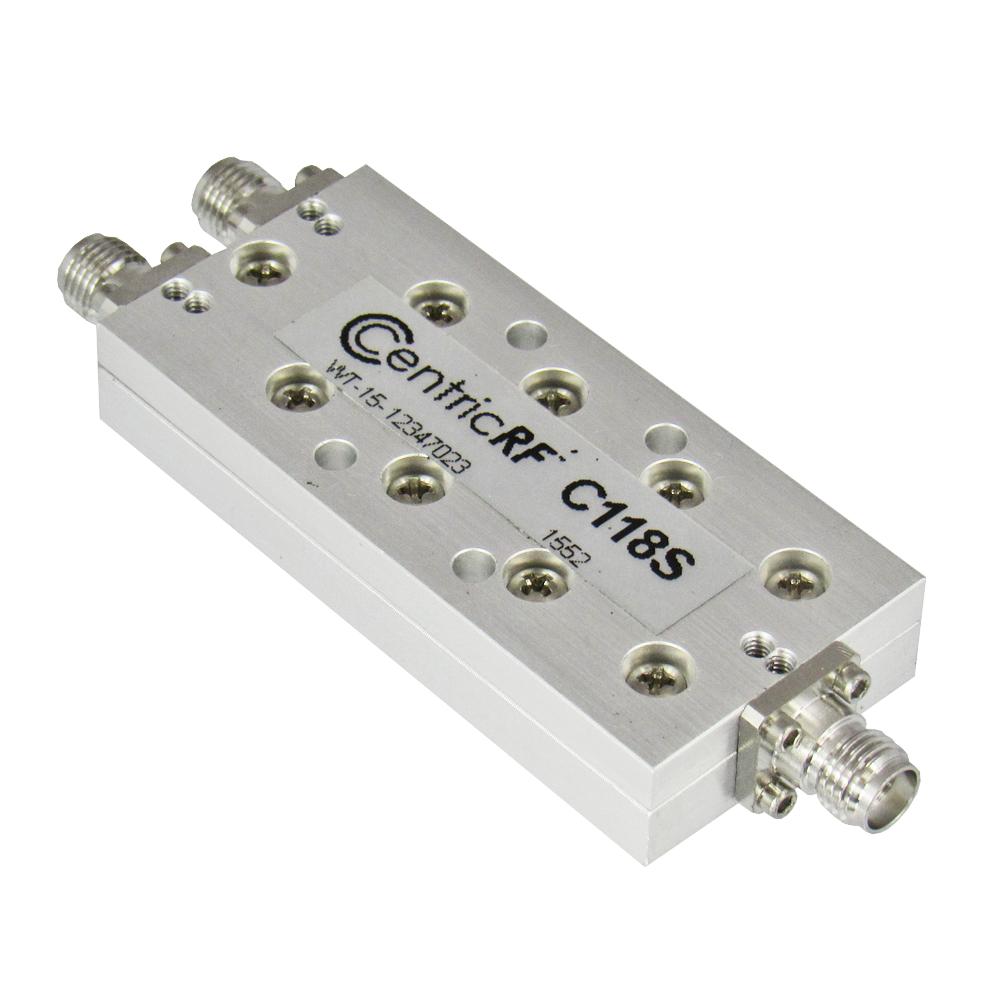 C118S SMA Power Divider 2-way 1-18Ghz VSWR 1 5 S Steel SMA 30Watts