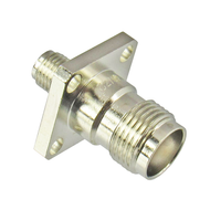 C2752 SMA/Female to TNC/Female Flange Adapter Centric RF