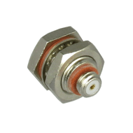 C9408 10-32/Female to 10-32/Female Bulkhead Coaxial Adapter Centric RF