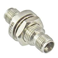C7745 3.5/Female to 3.5/Female Bulkhead Adapter Centric RF
