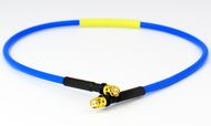 C578-086-24 SMP/Female to SMP/Female .086 24 inch Flexible Cable Assembly Centric RF