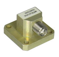 42AC206 WR42 to SMA/Female Waveguide to Coaxial Adapter Centric RF