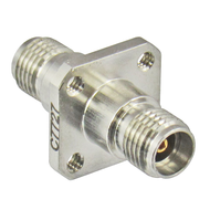 C7727 3.5/Female to 3.5/Female Flange 34 Ghz Adapter with Tapped Holes Centric RF