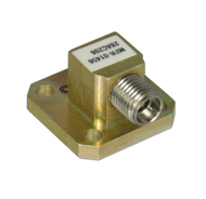 WR28 to 2.92mm-Female Waveguide to Coax Adapter 26.5-40ghz VSWR 1.25 Max Centric RF