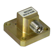 WR34 to 2.92mm Waveguide to Coax Adapter 22-33GHZ VSWR 1.25 MAX Centric RF