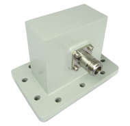 CWR284N WR284 to N/Female 2.6-3.95 Ghz Waveguide to Coaxial Adapter Centric RF