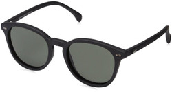 Le Specs Women's Bandwagon Sunglasses in Black Rubber