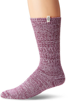 UGG Women's Rib Knit Slouchy Crew Sock - More Colors