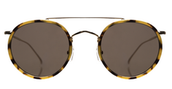 Illesteva Allen Ace Sunglasses In Tortoise/Gold