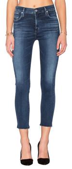 AGOLDE Sophie Hi Rise Skinny Crop Jeans In Claremont