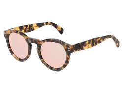 Illesteva Leonard Sunglasses In Tortoise/Rose