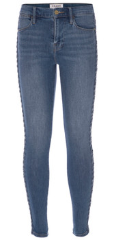 Frame Le High Skinny Braided Jeans