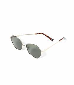 Le Specs Escadrille Sunglasses In Bright Gold