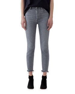 AGOLDE Nico HI Rise Slim Fit Jeans In Risk