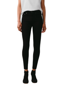 AGOLDE Sophie Mid Rise Ankle Jeans In Sane