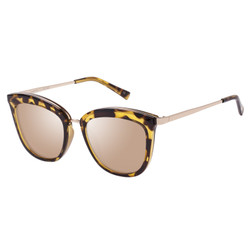 Le Specs Caliente Sunglasses In Syrup Tort