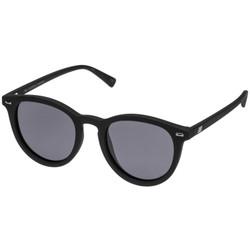 Le Specs Unisex Fire Starter Sunglasses In Black Rubber/ Smoke