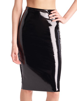 Commando Perfect Patent Midi Skirt - More Colors