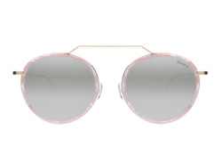 Illesteva Wynwood Ace Sunglasses In Pink Lemonade