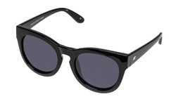 Le Specs Jealous Games Sunglasses In Black Smoke