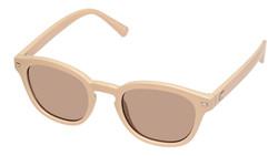 Le Specs Conga Sunglasses In Ivory Mocha Mono