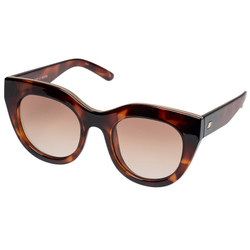 le Specs Air Heart Sunglasses In Toffee Tort