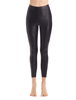 Commando Faux Leather 7/8 Leggings With Perfect Control