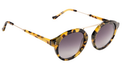 Illesteva Greenwich Sunglasses in Tortoise