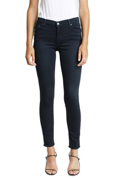 PISTOLA Aline High Rise Skinny Jeans In Deep Navy