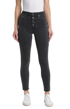 PISTOLA  Aline High Rise Skinny Jeans In Ashbury