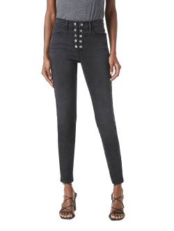 Frame Le High Skinny Snap Fly Jeans