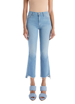 MOTHER The Insider Crop Fray Jeans In Hold My Hand