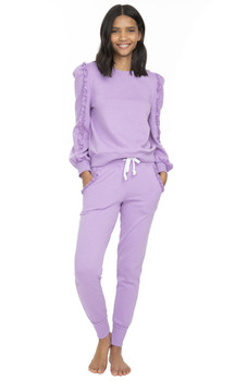 Generation Love Asta Ruffle Sweatpants