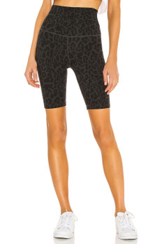 LNA Women's Bike Short In Black Leopard