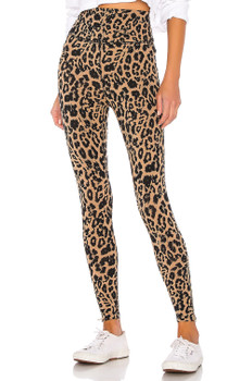 LNA Women's Leopard Zipper Legging In Leopard