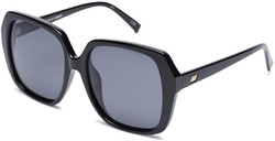 Le Specs Frofro Alt Fit Sunglasses In Black
