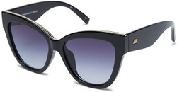 Le Specs Le Vacanze Sunglasses In Black