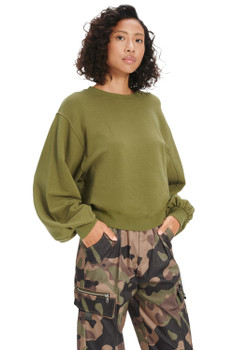 UGG Brook Balloon Sleeve Sweatshirt - More Colors
