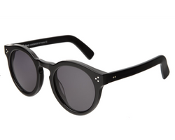 Illesteva 2  Leonard Sunglasses In Black